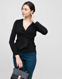 Bluza COAST neagra cu funda