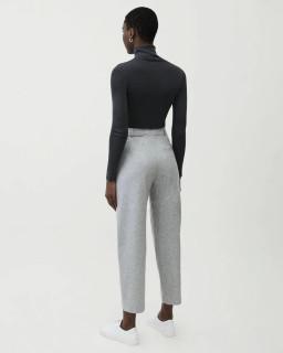 Pantaloni croi drept din lana