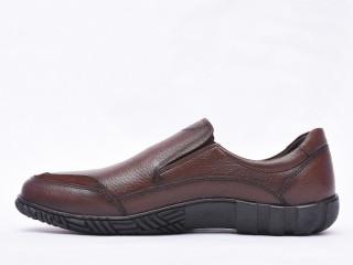 Pantofi barbati maro din piele naturala