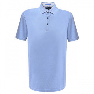 Tricou Albastru deschis Polo Ted Baker
