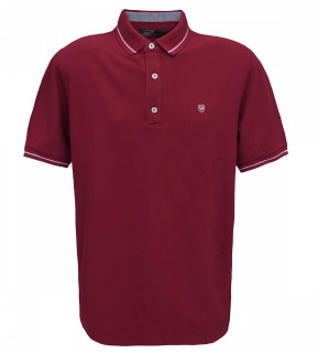 Tricou Polo Regular fit- grena