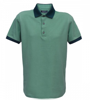 Tricou Polo Regular fit- turcoaz