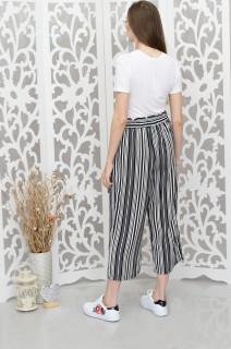 Pantaloni 3/4 cu cordon-E-