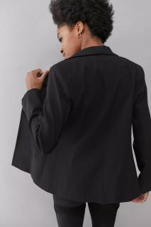 Sacou negru casual