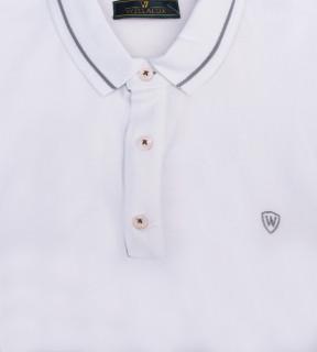 Tricou Polo Barbati Regular fit alb