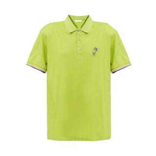 Tricou Polo Lime Tony Montana