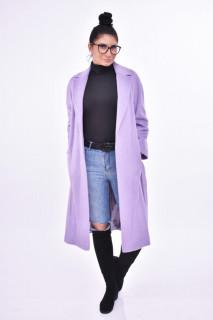 Palton elegant cu cordon