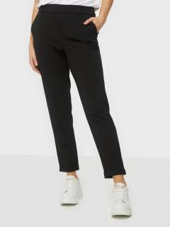 Pantaloni dama casual - negru-