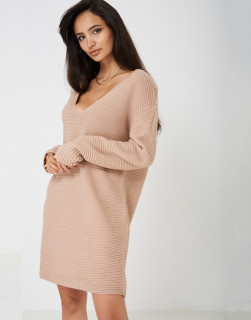 Rochie din tricot tip pulover oversize