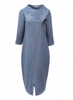 Rochie midi cu accesoriu -marimi mari-