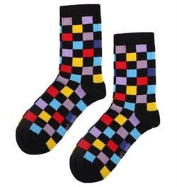 Șosete patratele colorate