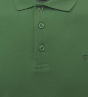 Tricou Polo Barbati Slim Fit Tony Montana -verde inchis