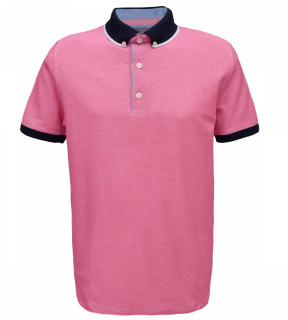 Tricou Polo Regular fit- roz