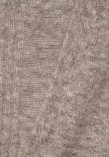 Cardigan din tricot gros cu buzunare - bej