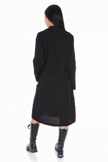 Jacheta/trench dama casual - negru-E