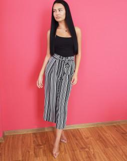 Pantaloni 3/4 cu cordon