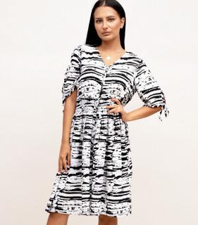 Rochie de vara cu nasturi