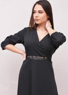 Rochie eleganta cu accesoriu