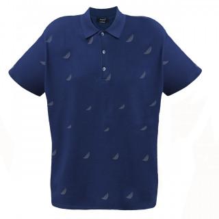 Tricou Bleumarin cu imprimeu La Pante