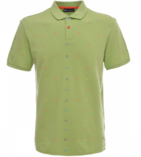 Tricou Polo Barbati Regular fit Tony Montana - Shark-verde