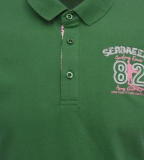 "Tricou Polo Barbati Regular Tony Montana "" Breeze "" verde"