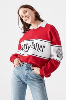 Bluza sport oversize cu imprimeu -Harry Potter-