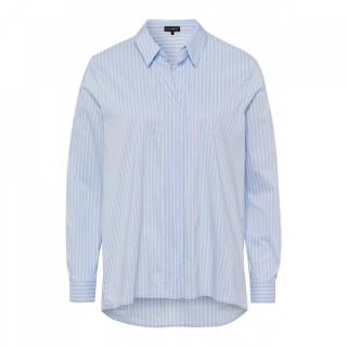 Camasa casual cu dungi alb/albastru deschis-E