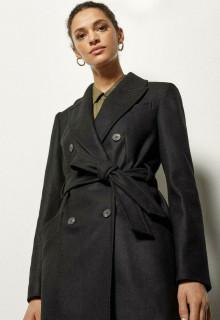 Palton negru Karen Millen