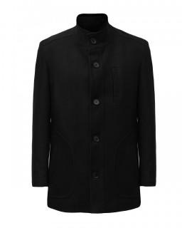 Palton negru Tony Montana