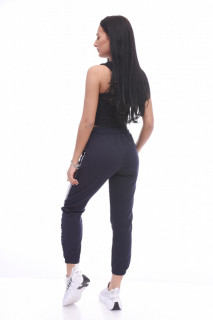 Pantaloni dama sport Lara - bleumarin -