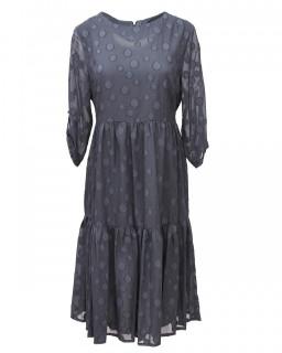 Rochie midi eleganta cu imprimeu - Marimi mari -