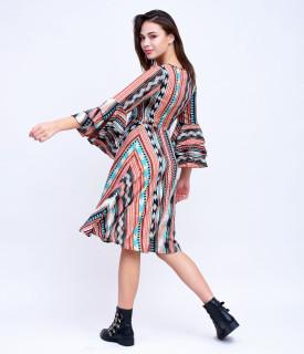 Rochie multicolor Marina Kaneva