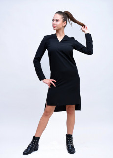 Rochie Neagra Tunica Collection London