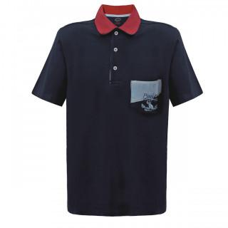 Tricou Bleumarin Polo Paul & Shark