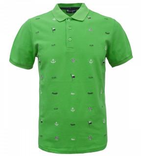 Tricou Polo Barbati Regular Fit Tony Montana- Sailor-verde