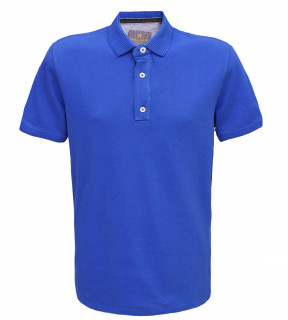 Tricou Polo Regular fit- albastru
