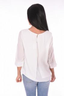 Bluza alba Wallis-E-