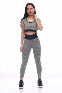 Compleu fitness Maya -gri-
