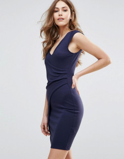 Rochie Bleumarin French Connection