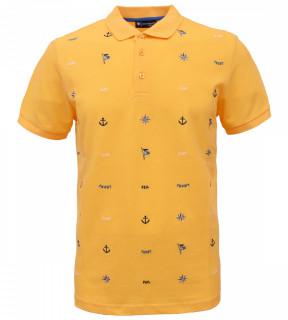 Tricou Polo Barbati Regular Fit Tony Montana- Sailor-galben