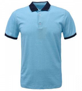 Tricou Polo Barbati Regular fit Wellalux - albastru