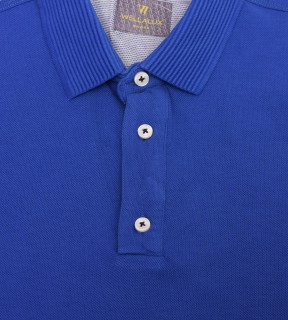 Tricou Polo Regular fit- albastru
