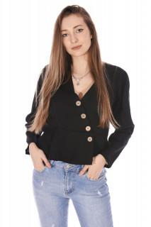 Camasa dama casual ZOEY -negru-