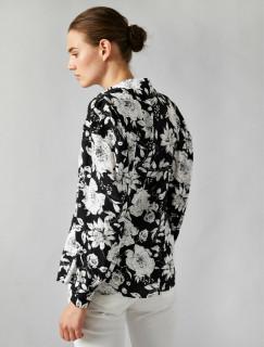 Camasa dama eleganta cu imprimeu floral