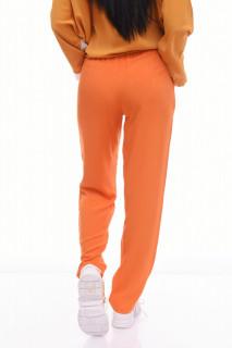 Pantaloni casual/ sport - portocaliu-