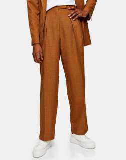 Pantaloni chino lejeri cu talie inalta
