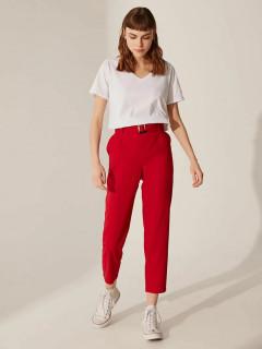 Pantaloni dama casual conici