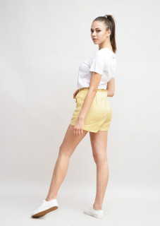 Pantaloni scurti in carouri