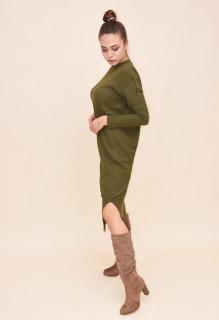 Rochie lunga din tricot