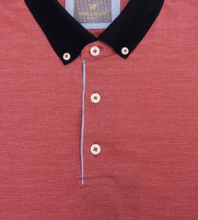 Tricou Polo Regular fit- corai